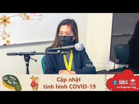 Radio với Hạt Santa Clara - Giải đắp thắc mắc về chủng ngừa COVID-19 & Ăn Tết An Toàn (2/10/21)