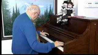 Ragtime Piano Solo - Just A Close Walk With Thee