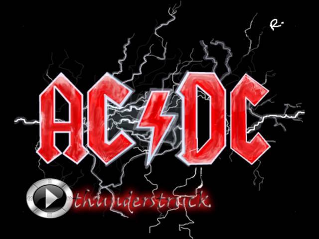 AC DC THUNDERSTRUCK СКАЧАТЬ БЕСПЛАТНО