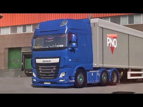 daf xf euro 6 euro truck simulator 2 promods 2. Black Bedroom Furniture Sets. Home Design Ideas