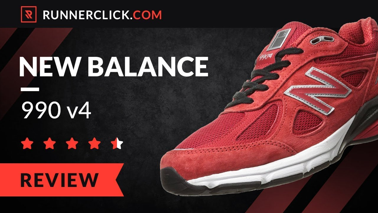 sports shoes b6640 9c125 New Balance 990 v4 Reviewed in 2018 | Runnerclick.com