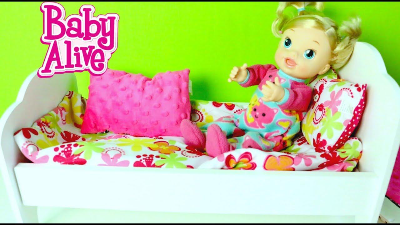 Cama Para Mu 241 Ecas Baby Alive Baby Dolls Bed Mundo De