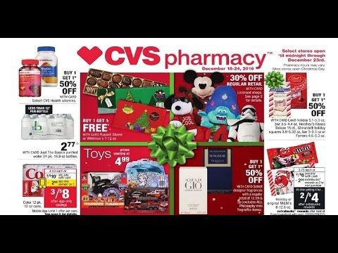 0ea453898d988 cvs weekly ads circular from 12 18 to 12 24 2016 - YouTube