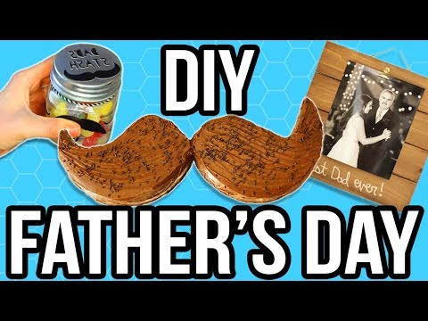DIY FATHER'S DAY GIFT IDEAS! Inexpensive Gifts for Your Dad!