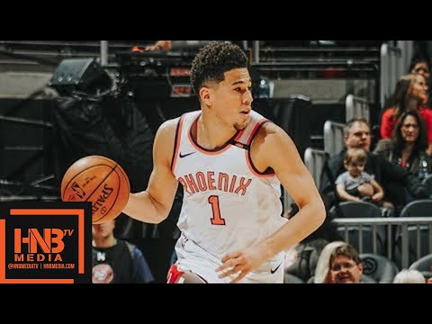 Phoenix Suns vs Atlanta Hawks Full Game Highlights / March 4 / 2017-18 NBA Season
