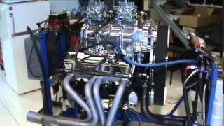 350 Chevy Weiand 671 Blown Hotrod Tough Street Engine by Horsepower World