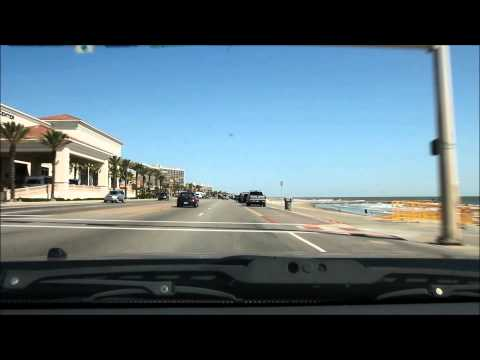 Galveston - Driving the Seawall