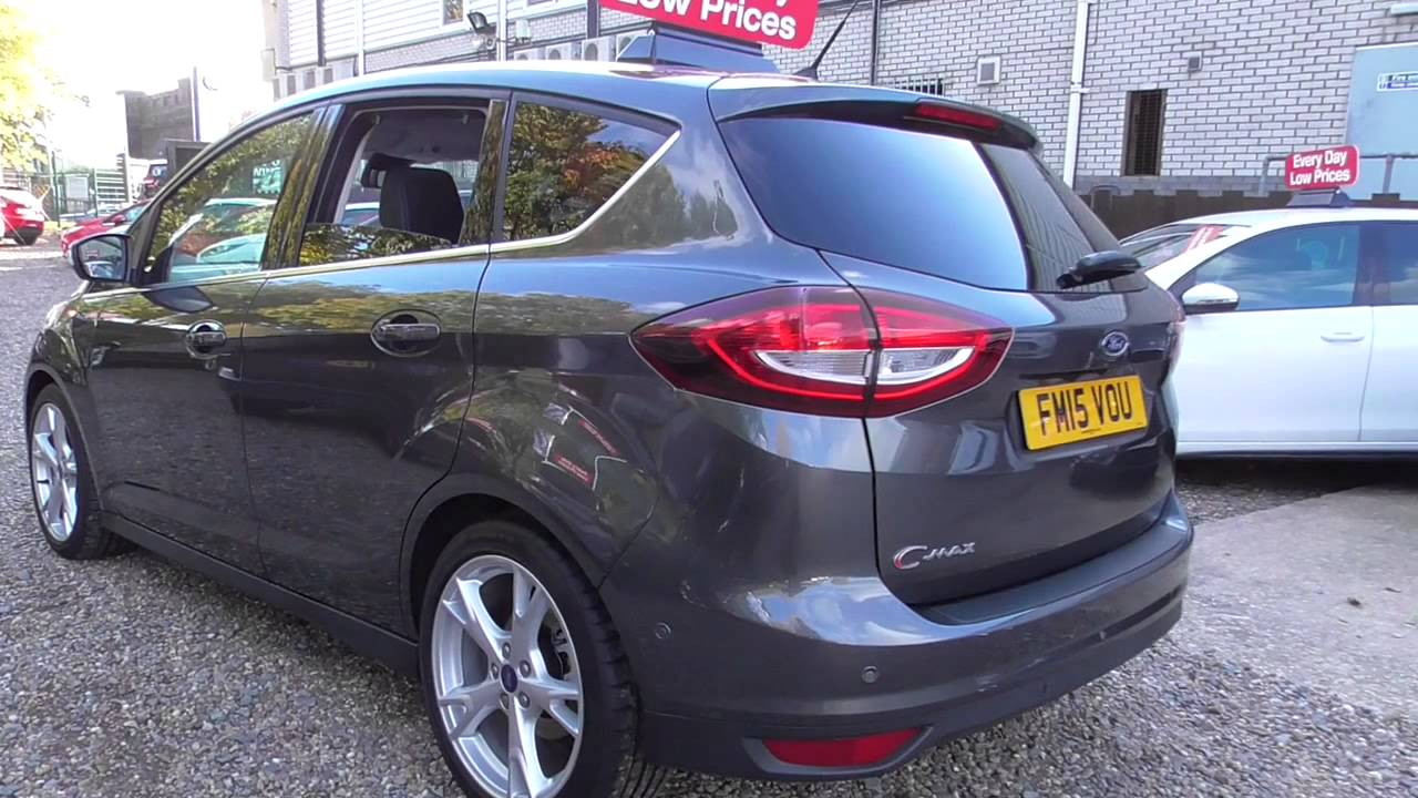 ford c max 1 5 tdci titanium x navigation 5dr u19306 youtube. Black Bedroom Furniture Sets. Home Design Ideas