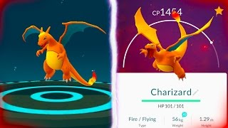 GETTING THE CHARIZARD IN POKEMON GO! FINALLY Evolving to our Charizard!