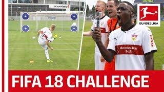 Record Breakers and Surprises - EA Sports FIFA 18 Bundesliga Free Kick Challenge - VfB Stuttgart thumbnail