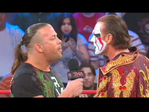 Rob Van Dam Face To Face With Sting