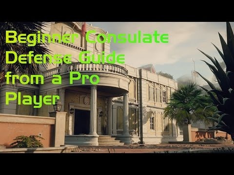 Consulate Defense Guide from a Pro Player! All 3 Sites Covered!