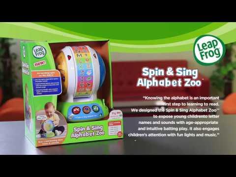 LeapFrog® Spin & Sing Alphabet Zoo