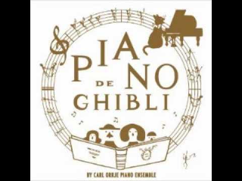 ピアノでジブリ Studio Ghibli Works Piano Collection Carl Orrje Piano Ensemble