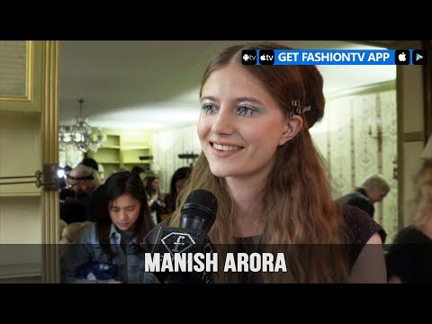 Paris Fashion Week Spring/Summer 2018 – Manish Arora Make Up   FashionTV