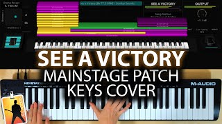See A Victory MainStage patch keyboard cover- Elevation Worship