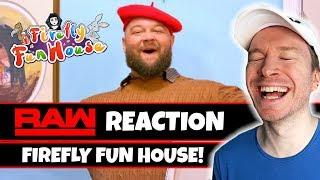 NEW Bray Wyatt Firefly Fun House REACTION - WWE RAW
