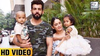 Jay Bhanushali & Mahhi Vij Attend Bella & Vienna's Birthday With Their Adopted Babies