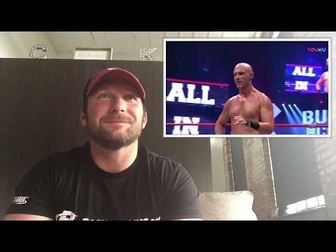 Pro Wrestler Reviews Pro Wrestling- All In PPV - Stephen Amell Vs Christopher Daniels
