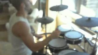 Beyonce- Halo (Andy's Metal Version) Drum Cover (New)