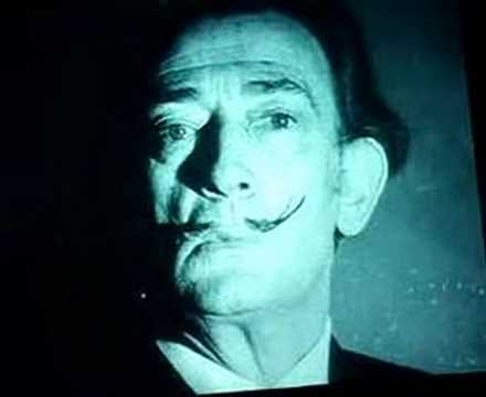 Salvador Dalí Gets a Screen Test by Andy Warhol (1966)