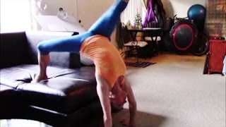 Gymnastics Backbend Kickover Tut๐rial With Coach Meggin! (First Steps)