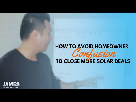 How to get a homeowner from confused to excited to go solar