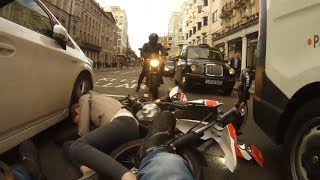 UK Bikers Road Rage, Near Misses and Bad Drivers #25