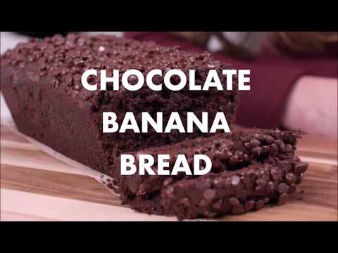 The Best Secretly Healthy Chocolate Banana Bread