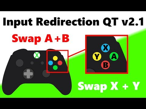 Rosalina's Input Redirecton QT v2.1 - Update for XInput Button Swapping! A = B & X = Y