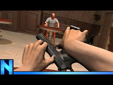 The Slowest Gun Fight In History - HAND SIM