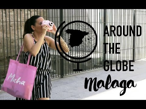 Malaga Travel Vlog #2 - Around The Globe - WHITNEY VALERIE