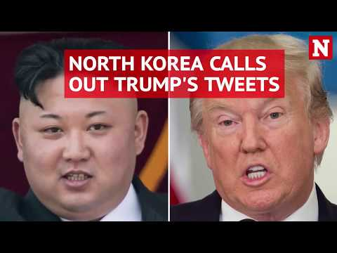 North Korea calls out Trump's tweets