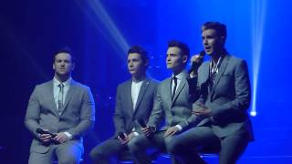 Collabro 'With You' Symphony Hall, Birmingham 12.02.15 HD