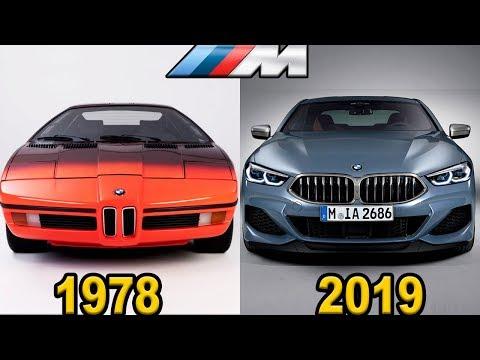 BMW M - Evolution (1978 - 2019)