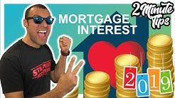 2 Minute Tax Tip 2019 Mortgage Interest Tax Deduction Home Equity Line of Credit Interest Limitation