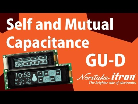 Noritake VFD: GU-D Series - Self and Mutual Capacitance