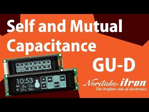 Noritake VFD: GU-D Series - Self and Mutual Capacitance