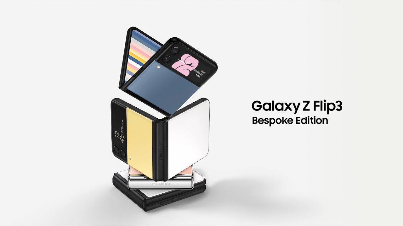 Download Galaxy Z Flip3 Bespoke Edition: Official Launch Film   Samsung