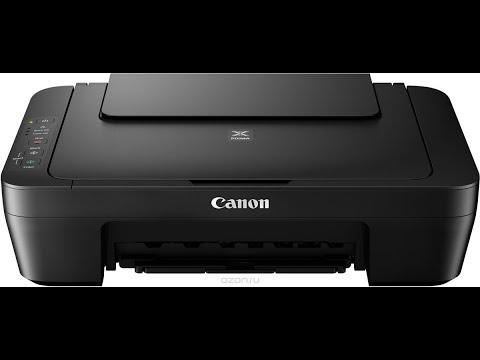 Как сделать выравнивание печатающих головок canon pixma mg2540s