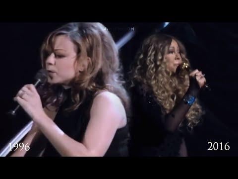 Mariah Carey  I Dont Wanna Cry 1996 vs 2016