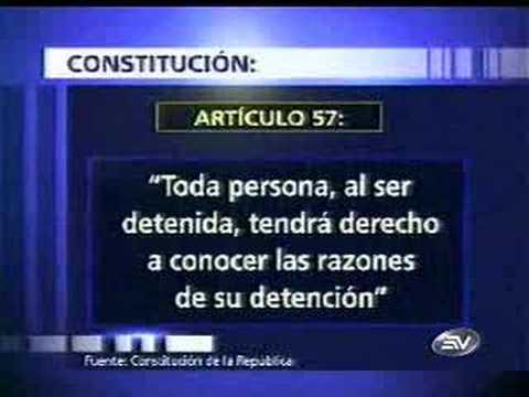 Ecuador, not democracy and violation rights culprit?= Go