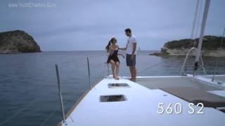 AMAZING LADY 56' Lagoon Sailing Yacht Charter Catamaran