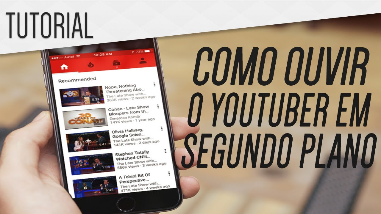 Como Ouvir O Youtube Em Segundo Plano Truque 2021 Youtube