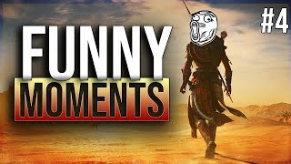 ASSASSINS CREED ORIGINS - funny twitch moments ep.4