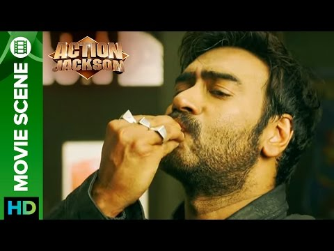 Ajay Devgn fights to the tunes  Action Jackson