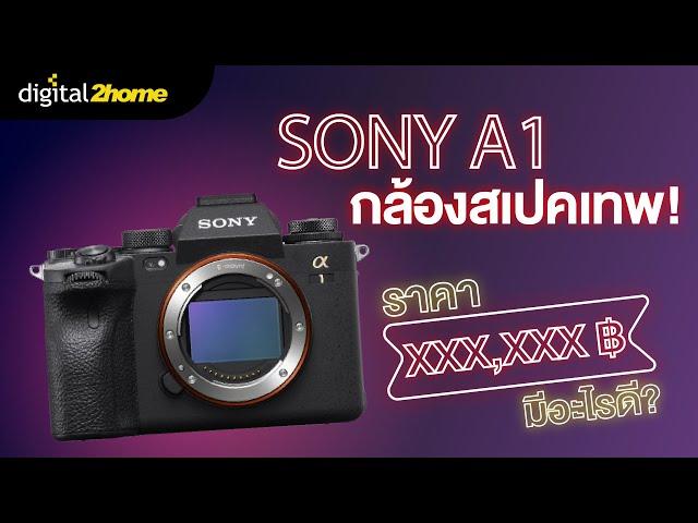 Sony A1 กล้องสเปคเทพ #เจาะสเปค