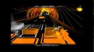 Audiosurf - Basshunter Welcome to Rainbow (hardstyle remix)