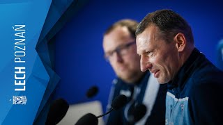Konferencja prasowa przed meczem z ŁKSem