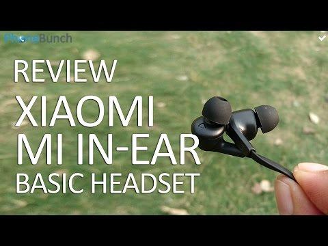 Xiaomi Mi In-ear Basic Headphones Review